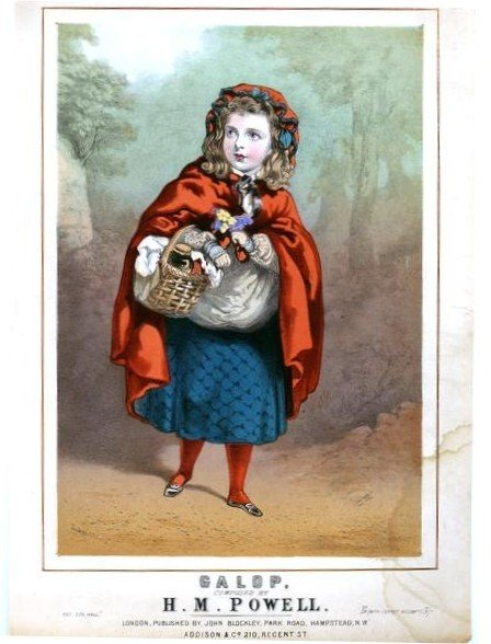 Red Riding Hood, 19th C