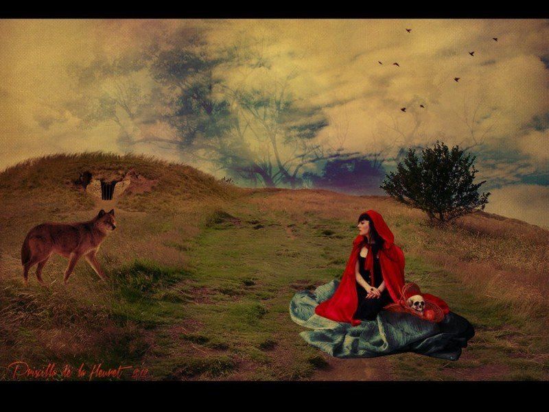 red_riding_hood_and_the_good_wolf_by_fleursama-d5bizj0