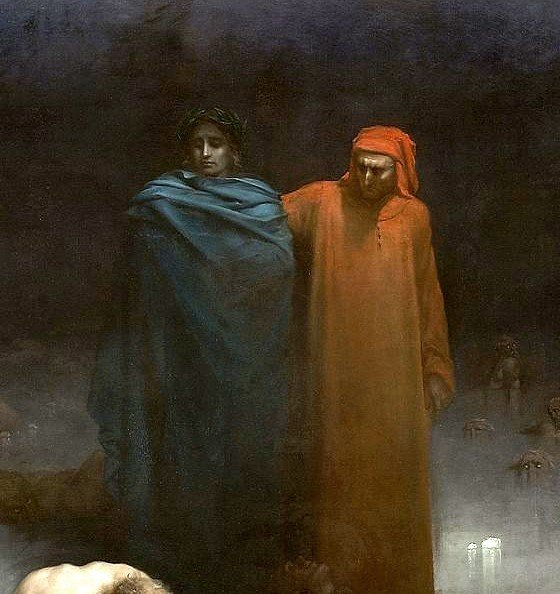 Gustave Dore Dante and Virgil in Helll