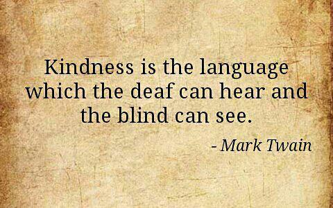 Kindness is power.