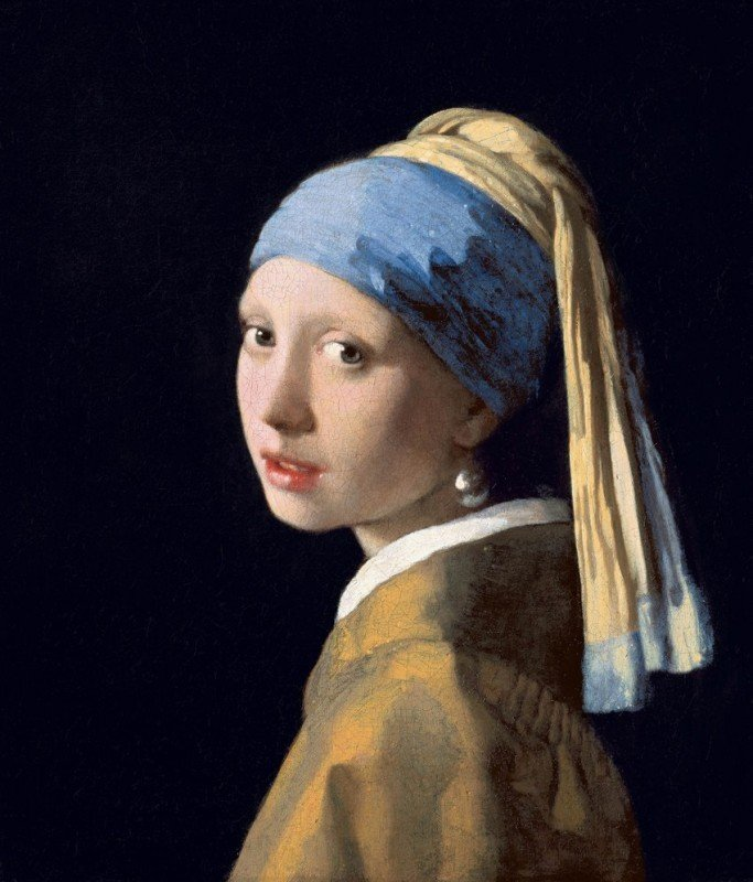 The painting Girl with a Pearl earring, for the article A Pearl of Truth and Wisdom