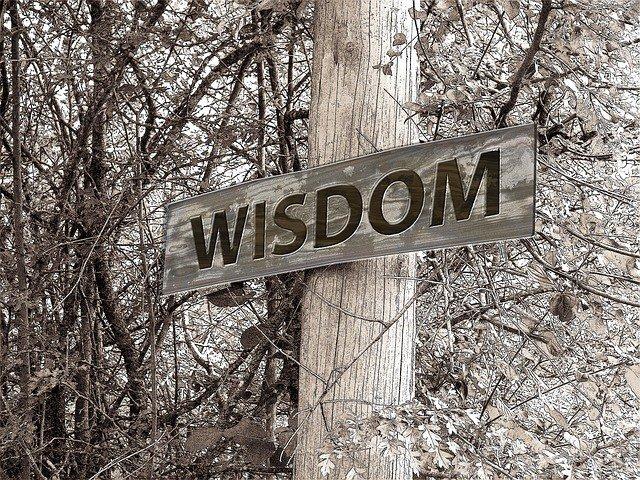 Wisdom is power.