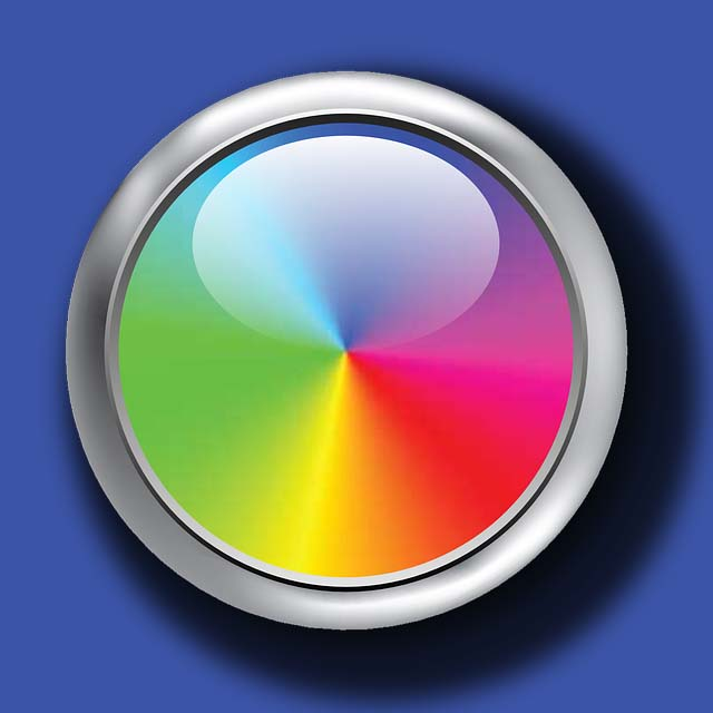 rainbow button background copy