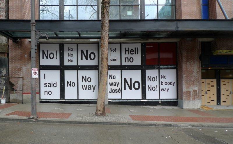 Ken Lun, I Said No, 2010
